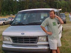 Anthony by my van