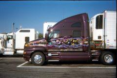 Dark Star Transport Truck