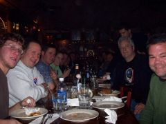 Starhead Dinner at Giovanni's in NYC