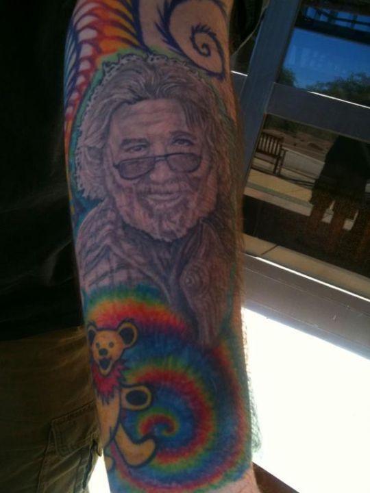 cool GD tattoo