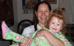 Auntie Lisa and Aura