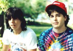 Me & Blaine Pre Giants Stadium Show mid 80's